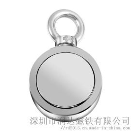 打捞磁铁定制圆形强磁方形磁铁片钕铁硼强磁铁