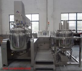 MZJR-350L真空乳化机 高剪切均质乳化机
