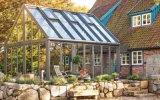 歐式120陽光房 鋁合金陽光房 鋼化玻璃陽光房