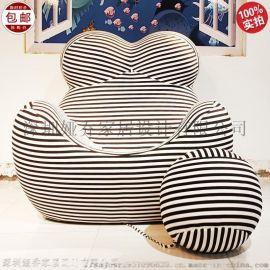 米兰家具 B&B 单人沙发 子母椅 母亲椅