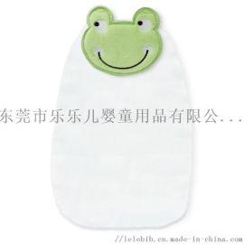 動物嬰兒吸汗巾純棉汗巾寶寶墊背巾4層紗布隔汗巾L碼