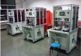 多点式塑料热熔铆接机 双工位多点式塑料热熔机