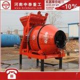 中泰重工建筑专用JZM350/400自动上料搅拌机