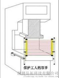 安全光栅的原理 红外线安全保护器的构成及应用