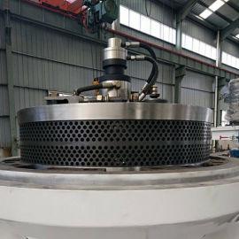 木屑颗粒机粉碎机配件厂家 颗粒机压轮总承价格 压辊模具
