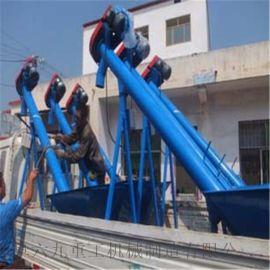沙子提升机 输送机械设备公司 六九重工 管式螺旋上