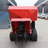 自走式田園管理機 履帶式低矮開溝施肥機