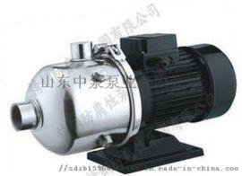 卧式多级增压液体输送循环离心泵