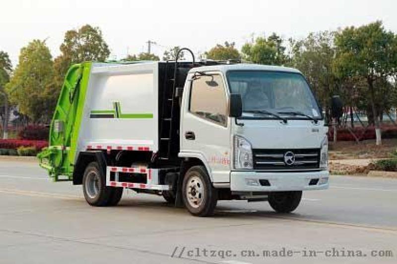 國六凱馬藍牌壓縮式垃圾車4方