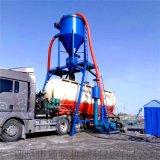 200型风机抽料机库存石粉自吸装罐机粉煤灰装车机
