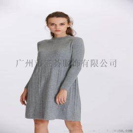 诺兰贝尔韩版女装高领女装针织折扣女装一线女装尾货
