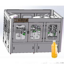 果汁饮料生产线灌装设备