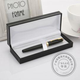 签字笔定制logo商务笔配礼盒金属笔套装办公礼品笔