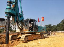 旋挖钻机 水桩 打桩机 联达桩机