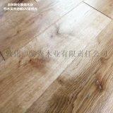 柞木实木地板厂家直销复古平板拉丝