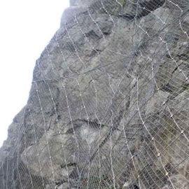 山体隔离边坡防护网 防汛主动防护网 富海厂家直销