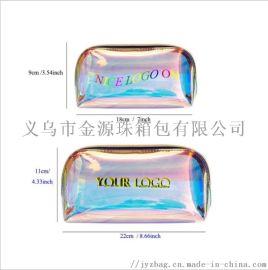 韩版 射幻彩PVC化妆包大小洗漱包赠品