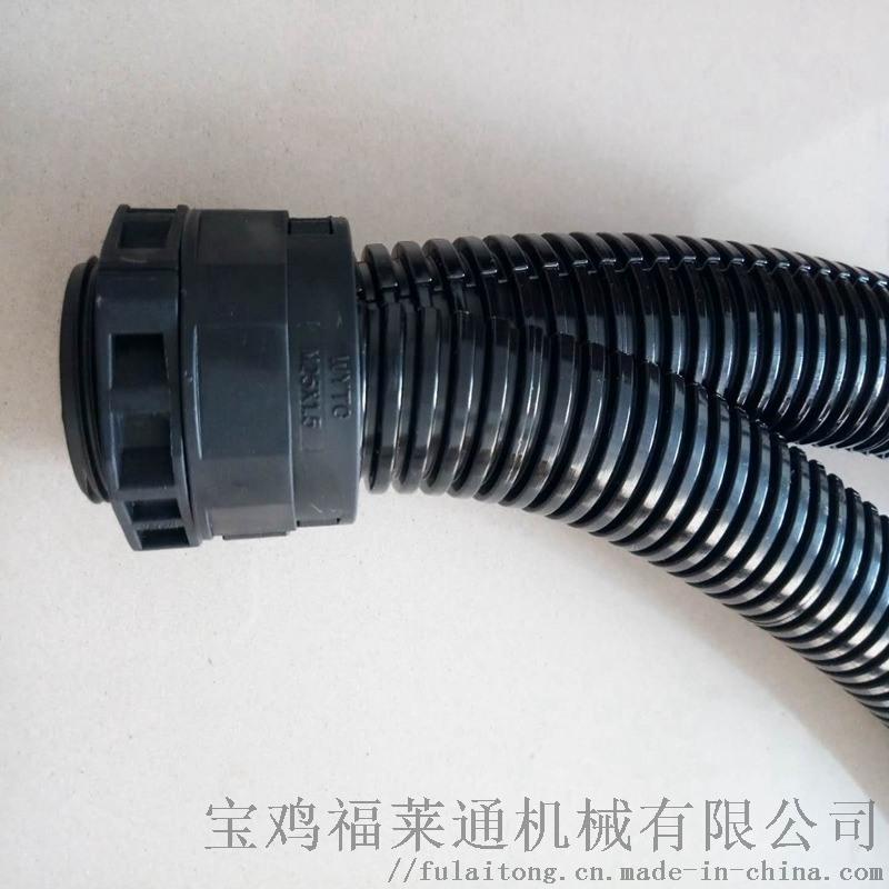 老旧线路整改用双开口AD18.7阻燃尼龙软管