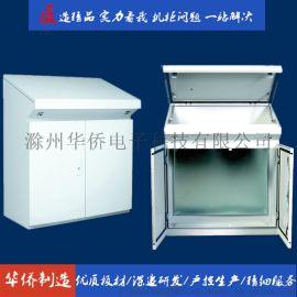 滁州华侨电子工业琴面斜面操作台立式电气控制柜控制台