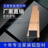 鋁合金鏡子框條 鋁合金鏡框型材