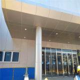 菱形衝孔包柱鋁單板 銀灰色門頭鋁單板包柱廠家