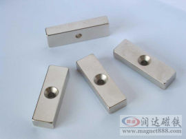 各种沉孔强力磁铁异形磁铁定制