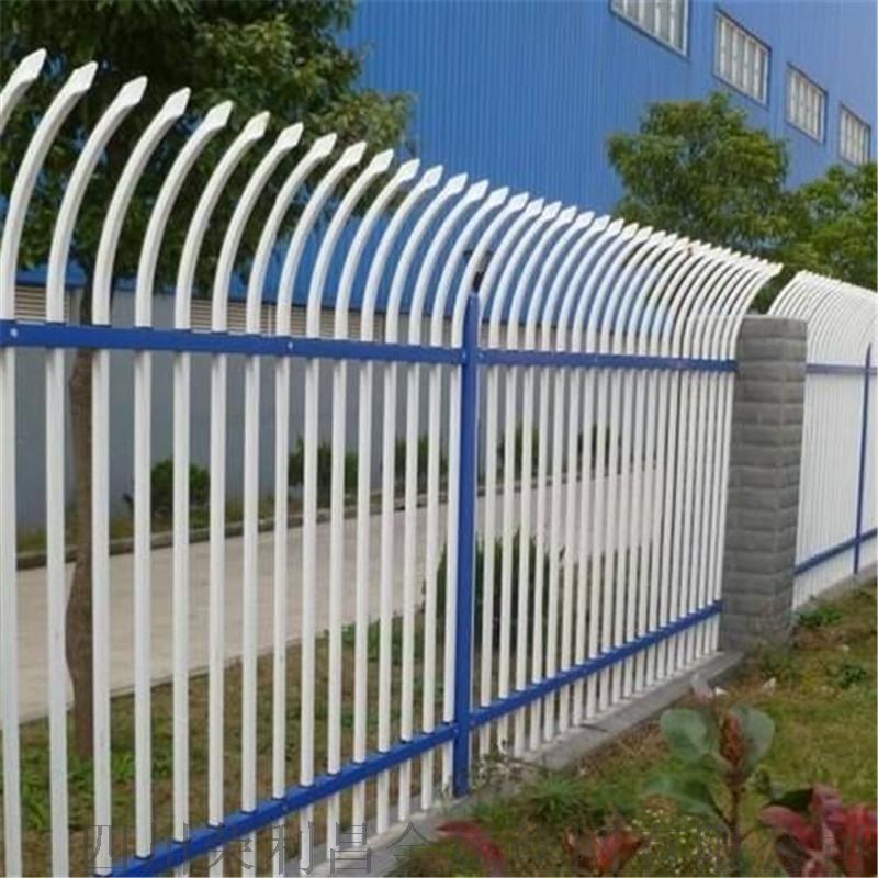 浸塑园林护栏网,成都  锌钢围栏网,锌合金防护栏