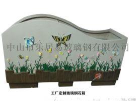 花箱厂家选〈乐居易〉专业户外景观玻璃钢花箱定制厂家