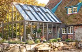 铝合金阳光房定制 钢化玻璃房 别墅玻璃遮阳房