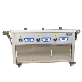 3槽超声波清洗机五金件工业清洗JS-3-1027
