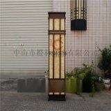 現代簡約方形壁燈仿雲石掛牆燈不鏽鋼牆外燈防水外牆燈