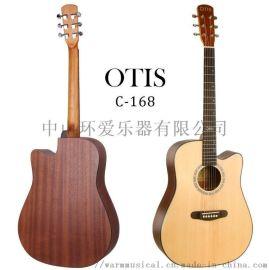41寸啞光面單民謠吉他C-168