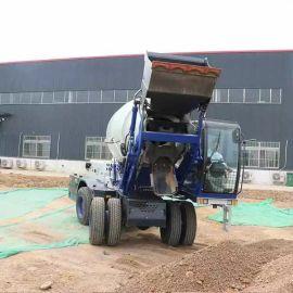 自动上料搅拌运输车 3.5方混凝土水泥搅拌车