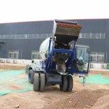 自動上料攪拌運輸車 3.5方混凝土水泥攪拌車