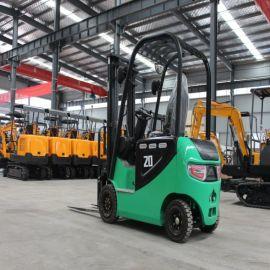 新型电动叉车 小型电动搬运车 四轮座驾式升降推高车