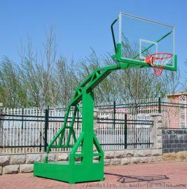 移动独臂篮球架,移动式篮球架,奥达体育厂家直销