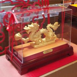 定制亚克力防尘罩 珠宝首饰展示盒 透明