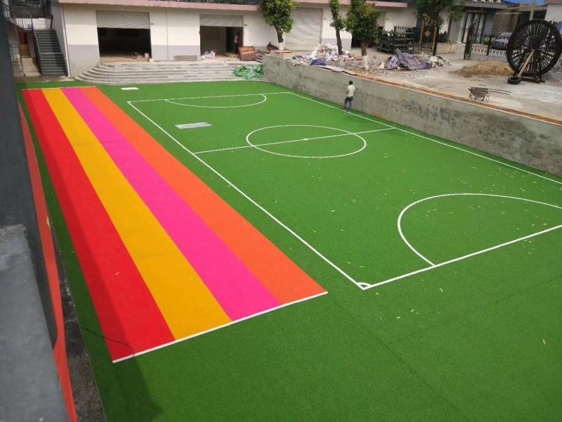 幼儿园塑胶跑道100m塑胶跑道验收标准