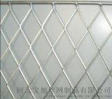 护栏网菱形钢格栅厂家