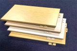 木纹圆孔铝单板 2.3冲孔木纹铝单板 厂家直营