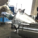 六安泡沫橡膠二維混合機 海綿橡膠雙螺旋錐形混合機