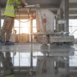 固化地坪施工-水泥混凝土固化剂地面-宇成工业地坪