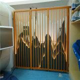造型镂空铝合金屏风 中式简约仿古铝屏风