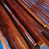 佛山木纹不锈钢管 201不锈钢管表面加工