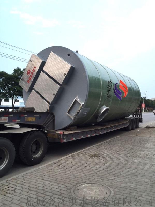 揚州地埋式一體化預製泵站項目案例