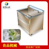 小型气泡清洗机 单双缸水果清洗机 可加装超声波功能