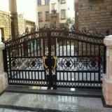 沧州肃宁县铝合金庭院大门围墙隔离栏常年销售