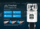 全新热销二合一双USB插口汽车空气净化器
