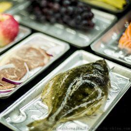 一次性水产 生鲜 果蔬 泡沫托盘贴体包装托盘