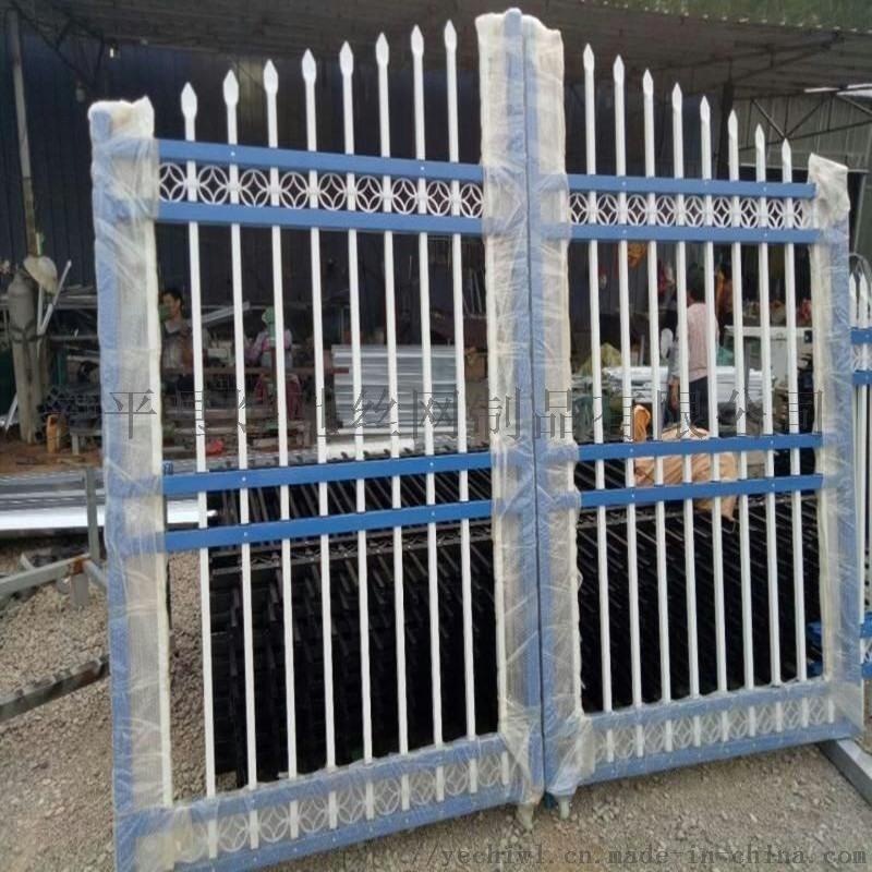 村口門牌坊 公園度假村鐵藝圍欄門